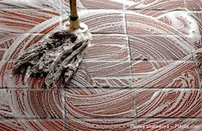 Zementschleier Von Fliesen Und Feinsteinzeug Entfernen - Fliesen reinigen nach dem verlegen